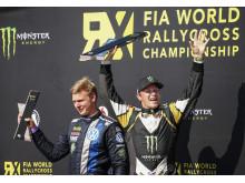 Johan Kristoffersson och Petter Solberg bildar rallycrossens dreamteam med Volkswagen.