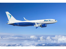 The European airline carrier Blue Air