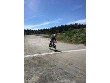Ung utøver BMX NM 2016