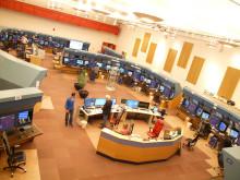 Høyoppløselig bilde av kontrollsentralen i Røyken