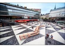 Långbordet, design White Arkitekter och Ebba Matz.