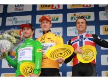 Topp 3 sammenlagt Tour of Norway 2016