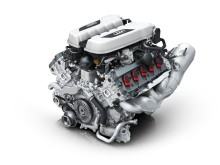 Hjertet af Audi R8 er en V10 sugemotor