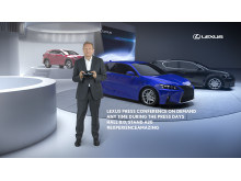 Lexus först med virtuell pressvisning på bilmässan i Frankfurt