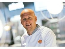Christoffer Bergfors vice VD och Sverigechef MAX Burgers