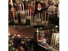 Bilder från julmarknaden i Sölvesborg