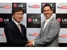 LG & YouTube-samarbeid