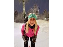 Den Moderne Askeladden Stine Hartmann klar for vinterturne i Telemark.