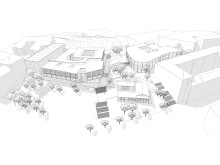 Campus Näckrosen, Göteborgs universitet, parallella uppdrag Korsvägen, Jais arkitekter