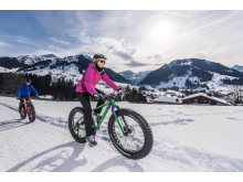 Fatbiken in Gstaad im Berner Oberland (c) Gstaad Marketing GmbH