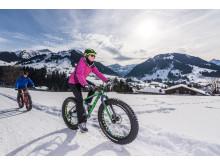 Fatbiken in Gstaad im Berner Oberland (c) Gstaad Marketing GmbH