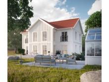 Myresjöhus husmodell Mästergården