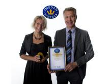 Årets Miljöprestation tilldelas Livin' Hotell Sweden Hotels i Örebro