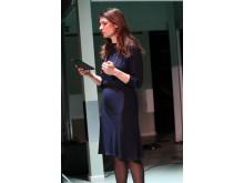 Konferencier til årets Artbeat Pris Charlotte Munck