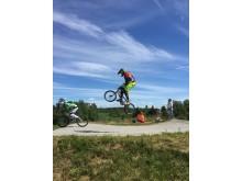 Utøver NM BMX 2016 actionbilde