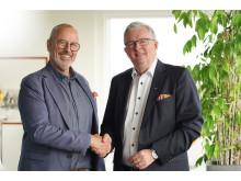 Kjellåke Fyrgård och Christer Ohlsson 2019