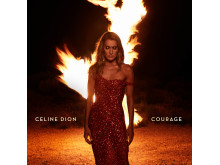 Celine Dion - Courage Omslag