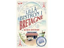 Högupplöst framsidesbild Den lilla bistron i Bretagne av Nina George