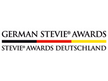 Das Logo des German Stevie Awards 2018