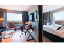 Quality Hotel & Resort Frösö Park med utsikt över fjällen