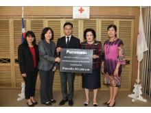 Panasonic Group Companies (Thailand) Donates 558,000 Baht to Nepal
