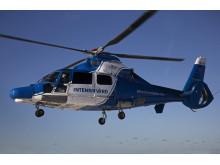 Luftburen intensivvård (ambulanshelikopter i luften)