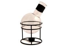 Glöggkolv, rymmer 1,3 liter med värmeljushållare