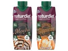 Naturdiet Protein Coffee shakes i två smaker