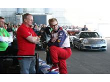 Kenny Bräck - en av förarna på Speed for Life i Malmö