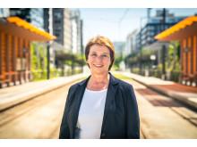 Marianne Vik, ansvarlig for trikkeanskaffelsen og CFO i Sporveien