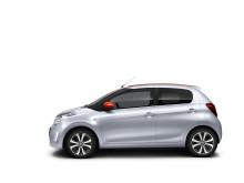 Nya Citroën C1 - i profil