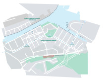 Karta Hammarby sjöstad
