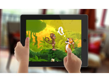 Gratis app for barn: Ape på jungeleventyr