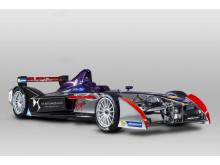 DSV-01 Formula E-bilen front
