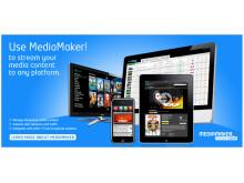 Xstream's OVP, MediaMaker