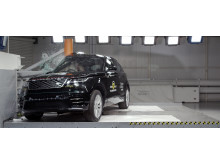 Range Rover Velar - Pole crash test 2017