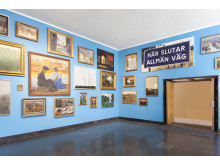 Installationsvy Show and Tell – att visa och berätta, Malmö Konstmuseum