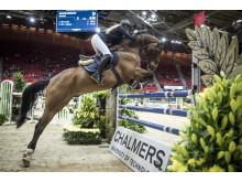Chalmers smarta hinder på Gothenburg Horse Show 2016.