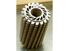 VBN Components 3D-printad hålad snäckfräs