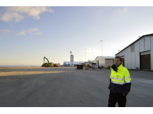 Sölvesborgs hamn miljösatsar med LED mastbelysning
