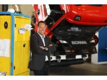 Joachim Hepfer, Leiter Parts und Serviceverträge, Scania Deutschland Österreich