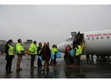Nytt passagerarrekord på Bromma