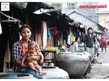 Klädfabriksarbetare i Kambodja