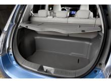 Nissan Leaf bagasjeplass