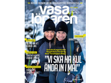 Kristin Kaspersen och Magdalena Forsberg på omslaget till Vasalöparen nr 1 2020