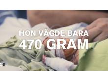 En rekryteringsfilm om arbetet på Akademiska sjukhusets neonatalavdelningen har vunnit internationellt pris.
