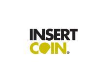 Insert Coin on white