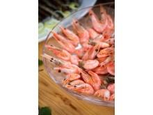Shrimps an Bord von Tallink Silja