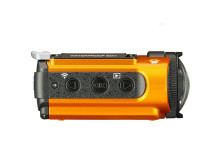 Ricoh WG-M2. orange från sidan 2