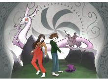 Transmedialt berättande, illustration